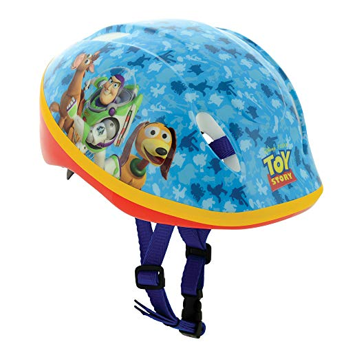 Toy Story Unisex-Youth Safety Helmet, Blue, 48-54cm Best Price and Cheapest