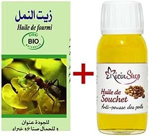 huile de fourmis 30 ml huile de souchet 60 ml les deux produits naturel anti poils les plus. Black Bedroom Furniture Sets. Home Design Ideas