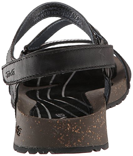 Teva Cabrillo Crossover Sandalo donna Nero