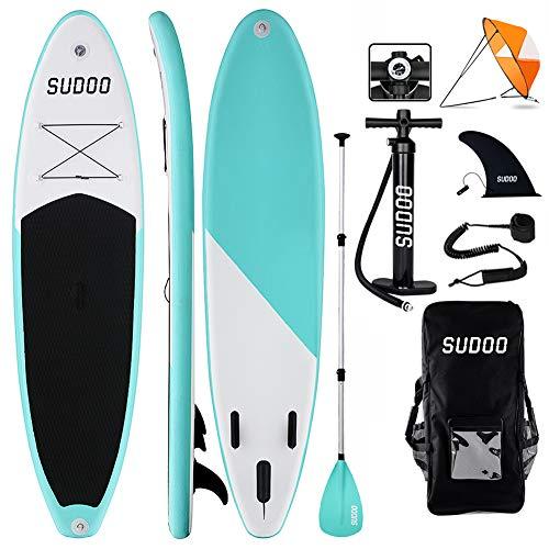 Tabla Hinchable Paddle Surf + SUP Paddle Remo Ajustable