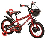 Ollmii Bikes Creattor 14 inches Steel Rim Red BMX Kids Cycle for 3 to 5 Years