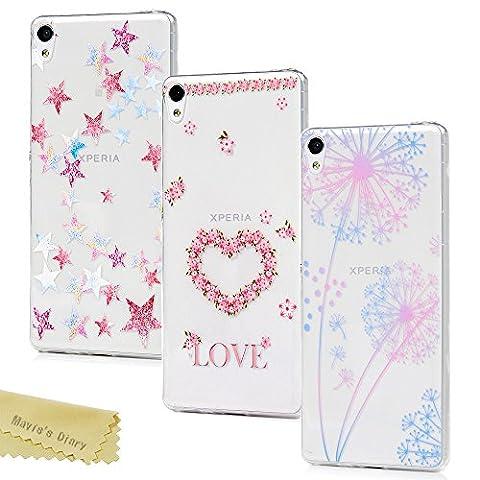 [3-Pack] Mavis's Diary Xperia XA Case ,Sony Xperia XA Case