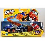 Hasbro - Tonka Chuck & Friends - DieCast - Paquete de 3 - Equipo de Rescate