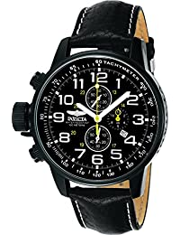 Invicta I-Force Men's Chronograph Quartz Watch with Leather Strap – 3332