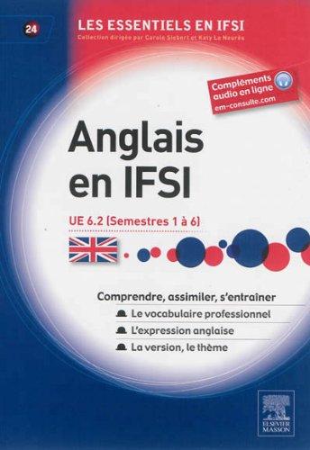 Anglais en IFSI: Unité d'enseignement 6.2