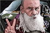 Posterlounge Alu Dibond 90 x 60 cm: Tolstoi was a Punk von dieKleinert/Mauritius Images
