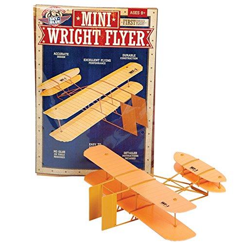 Sky-Blue-Flight-Mini-Wright-Flyer-Model-Kit