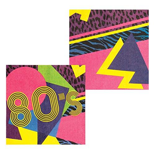 Servietten 80er Jahre - 2