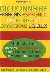 Dictionnaire français-espagnol des phrases et expressions usuelles