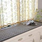 WEI Einfacher moderner Pendel-Matten-Fensterbrett-Matten-Sommer-Schwamm-Balkon-Kissen-Sich hin- und herbewegender Eimer, Multi-Size,60 * 120 cm
