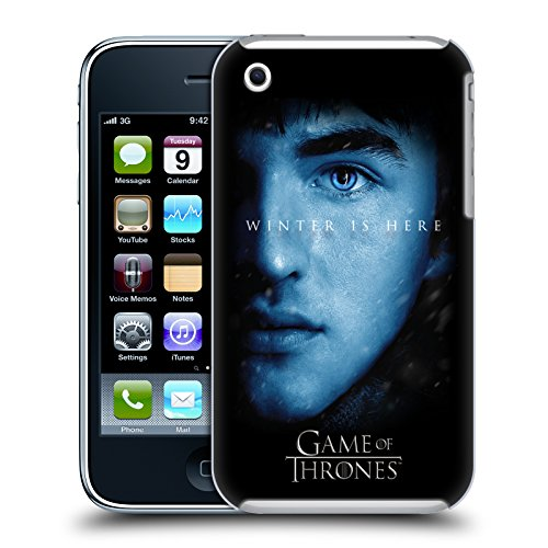 Offizielle HBO Game Of Thrones Jon Snow Winter Is Here Ruckseite Hülle für Apple iPhone 5 / 5s / SE Bran Stark