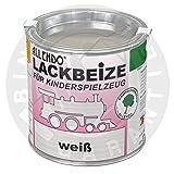 Lackbeize für Spielzeug (375 ml weiss)