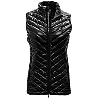 Damen Kugel Bold Weste, Damen, Ladies Sphere Bold Vest, schwarz, X-Large