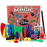 Juguetes educativos,Internet Juguetes Mágicos Del Sistema De Los Apoyos Conjunto De Magia Junior De Para Niños Kit De Trucos Para Magic Tricks Toys For Children (Rojo)