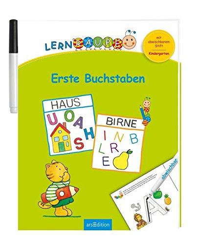 Lernraupe - Erste Buchstaben: Mit abwischbarem Stift (Kindergarten-Lernraupe)