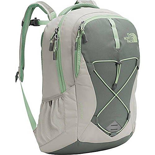The North Face Women's Jester Backpack - Lunar Ice Grey/Sedona Sage Grey - One Size (Seitliche Mesh-tasche Große)