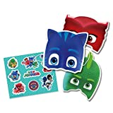 PJ Masks Stickers & Masks (Pack of 6)