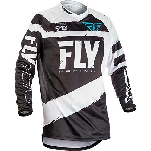Fly Racing Jersey F-16 Grau Gr. XL - Fox Racing Jersey-stretch