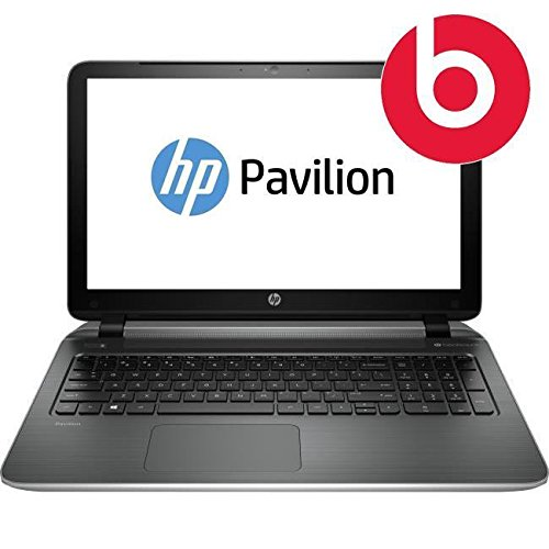 HP Pavilion 15-p144na Beats Audio 15.6-Inch Laptop (AMD Quad-Core A8, 2GHz Processor, 8GB RAM, 1TB HDD Radeon R7 M260 2GB Graphics Integrated Webcam, DVD-RAM, Windows 8.1) Silver image