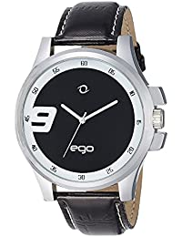 Ego by Maxima Analog Black Dial Men's Watch - E-01022LAGC