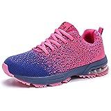 Kuako Femmes Baskets Fitness Compétition Entraînement Gym Respirant Multisports Athlétique Air Coussin Chaussures de...