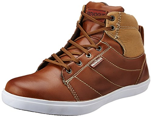 Provogue Men's Tan Sneakers – 7 UK 51gfMrNsd L