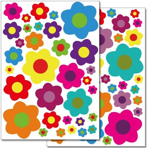adesivi-da-parete-wandkings-fiori-colorati-design-4-set-adesivi-66-adesivi-su-2-fogli-din-a4