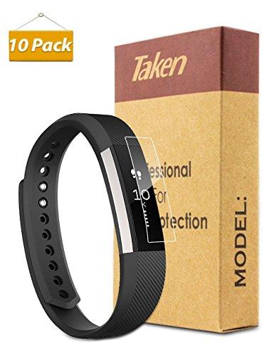 Fitbit-Alta-Screen-Protector-Taken-PremiumPack-of-10HD-ClearPET-Film-Screen-Protectors