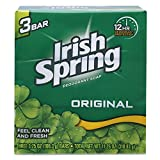 Irish Spring Deodorant Soap Original 4 o...