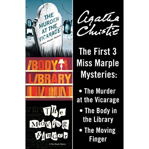 Miss Marple 3-Book Collection 1: The Murder at the Vicarage, The Body in the Library, The Moving