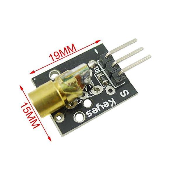 51gfPrAwuSL. SS600  - Aihasd KY-008 650nm 5V módulo de Sensor láser para Arduino con demo código