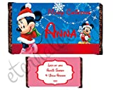 Eternal Design 1 x Personalised Christmas Kids Chocolate...