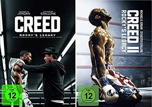 Creed Rocky's Legacy 1+2 [DVD Set] Creed 1+2, Teil 1+2 -