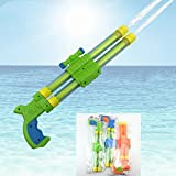 Un Branded NewRandom Color Kids Toy Gun Squirt Gun Double Nozzle Water Gun Summer Drifting Beach Toys Swimming Pool Accessories