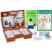 Erste-Hilfe-Koffer M3 PLUS für Betriebe DIN 13157 EN 13157 von WM-Teamsport - incl. Notfall-Beatmungshilfe, Verbandbuch... preisvergleich bei billige-tabletten.eu