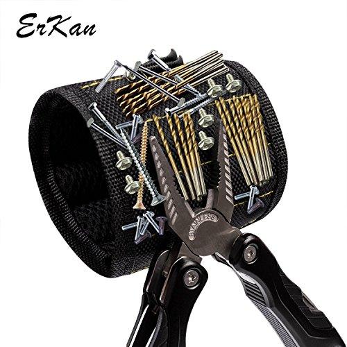 Pulsera magnética de ErKan, Fuerte N35 Imanes para Herramientas de...