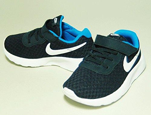 Nike Tanjun (Tdv), Baskets Basses Mixte Bébé Blanc Cassé - Blanco (Blanco (Obsidian / White-Photo Blue))
