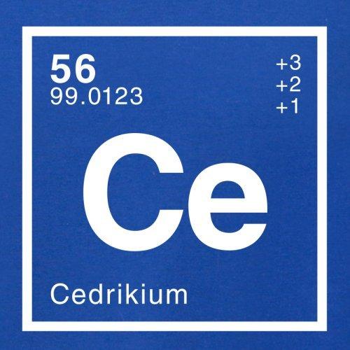 Cedrik Periodensystem - Herren T-Shirt - 13 Farben Royalblau