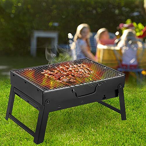 . rbecue Grand Barbecue Barbecue Plein d Barbecue Camping de t Porta Charbon de cha Pliant Portable air n de bo Bois Jardin Voyage en en plei