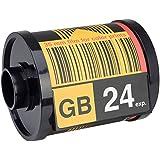 Distributeur de papier WC Pellicule photo ClicClac Noir et jaune ABS La chaise longue 34-1S-006