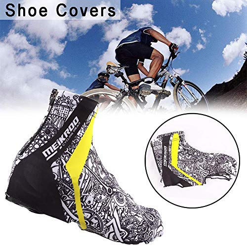 [High Guality Bicycle Accessoires] -2Pcs Winter Warm wasserproof Windproof Wind Cycling Shoe Cover Bike Bike Overshoes