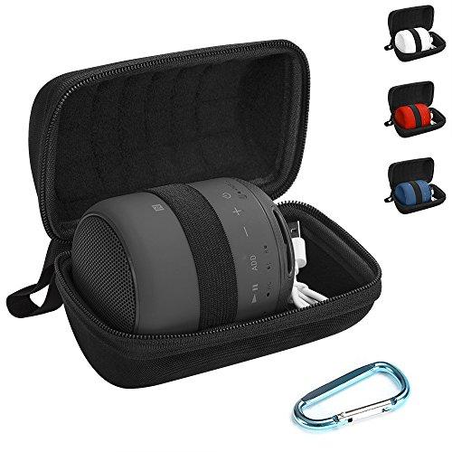 Estuche Sony XB10, Estuche Rígido de Viaje para Sony SRS-XB10 Estuche inalámbrico Portátil con Bluetooth (Modelo 2017), Estuche Protector Sony XB10-Negro