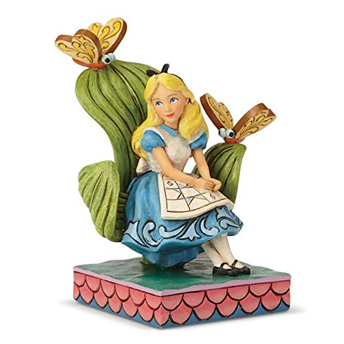 Disney Traditions Neugieriger und Neugieriger Alice Figurine