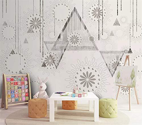 VVBIHUAING 3D Wand Wandbilder Tapete Aufkleber Dekorationen Vintage Amerikanisches Muster Hintergrund Dekoration Kunst Kinder Zimmer (W) 400x(H) 280cm