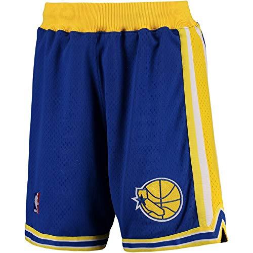 en State Warriors 1995-1996 Authentic NBA Shorts Blau, L ()