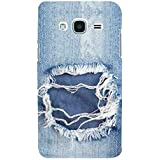 For Samsung Galaxy J2 (2016) :: Samsung Galaxy J2 Pro (2016) Blue Jeans Case ( Blue Jeans , Denim Jeans, Jeans Texture, Jeans Torn Denim, Denim Texture ) Printed Designer Back Case Cover