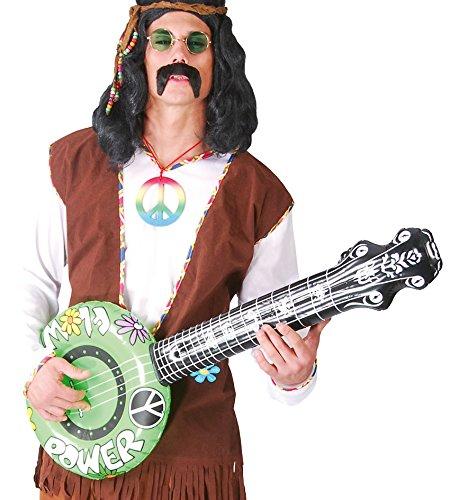 FIESTAS GUIRCA Guitarra Inflable Banjo 60 años Hijo de Las Flores