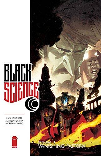 Book's Cover of Black Science Volume 3 Vanishing Pattern