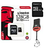 Original Kingston 128 GB MicroSD Speicherkarte SDXC 128GB + KartenLeser Für Samsung Galaxy Tab S4