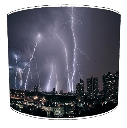 Premier Abat-Jour Plafond New York City Lightening Abat-Jour, 25,4 cm